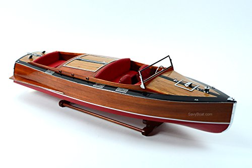 SavyBoat 1930 Chris Craft Mahogany Runabout 36
