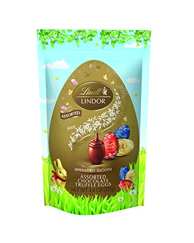 Lindor Chocolate Truffle Eggs, Assorted Chocolate, 8 Count