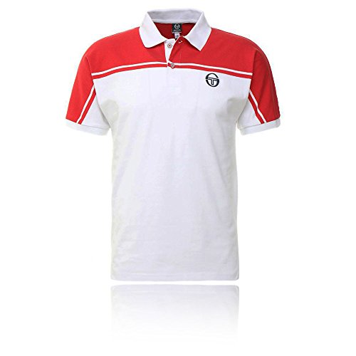 (Sergio Tacchini New Young Line Archivio Tennis Polo - SS19 - Small - Red)