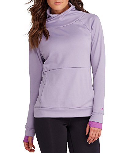 Champion Tech Fleece Funnel Neck Pullover, XL, Lavendar Freeze