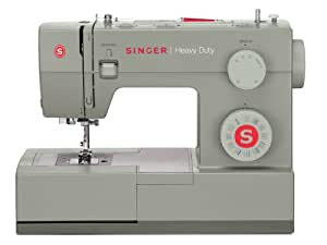 SINGER 5532 Heavy Duty Extra-High Sewing Speed Portable Sewing Machine with Metal Frame and Stainless Steel Bedplate