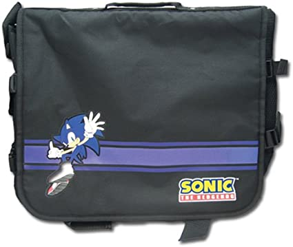 Great Eastern Entertainment Sonic The Hedgehog Sonic /& Shadow Messenger Bag