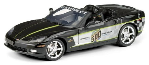 2008 Corvette LS3 Indy 500 Pace Car Convertible by The Franklin Mint in 1:24 Scale Convertible Indy Pace Car