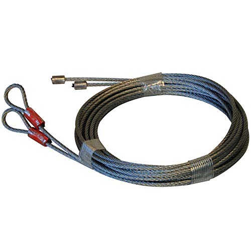 lunanice Garage Door Cables for Torsion Spring 11' Long Door(150
