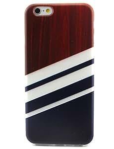 YULIN tres muestras patrón del tpu pintadas contraportada suave para el iphone 6 / 6s