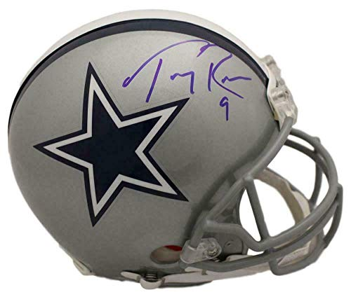 (Tony Romo Autographed Helmet - Proline BAS 22476 - Beckett Authentication - Autographed NFL Helmets)