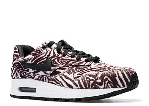 Nike Air Max 1 Qs (gs) Pacchetto Zoo Zebra - 827657-100