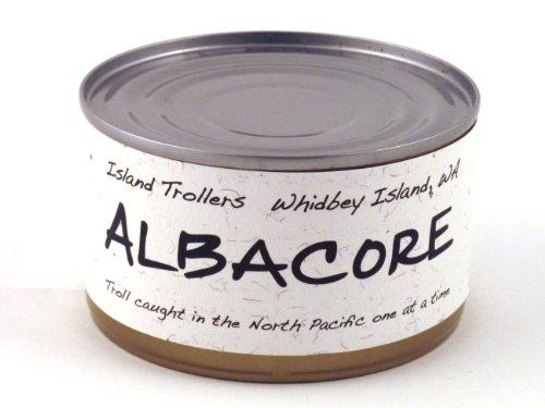 Albacore Tuna Troll Caught Dolphin Safe Sashimi Grade North Pacific Original 212 g 7.5 oz