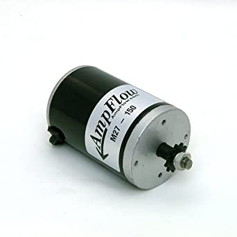 Ampflow m27 150 brushed electric motor 150w 12v 24v or for 24v brushed dc motor