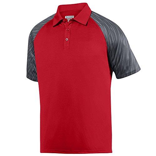 Augusta Athletic Wear - Augusta Sportswear Men's Breaker Sport Shirt M Red/Slate