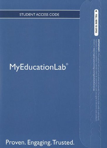 Download NEW MyEducationLab with Pearson eText -- Standalone Access Card -- for Engaging in the Language Arts: Exploring the Power of Language PDF