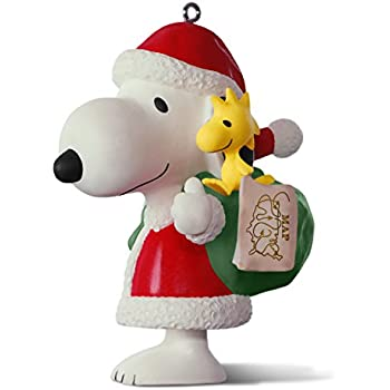 hallmark keepsake 2017 peanuts spotlight on snoopy 20th anniversary porcelain christmas ornament - Hallmark Christmas Decorations 2017