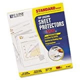 Standard Weight Polypropylene Sheet Protector, Clear, 11 x 8 1/2, 100/BX, Sold as 1 Box, 20PACK , Total 20 Box
