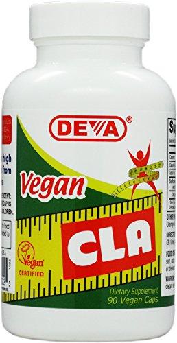 Deva Vegan Vitamins CLA, 90-Capsules