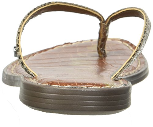 Pewter Gracie Metallic Boa Flop Flip Sam Edelman Women's nqYqwE8X