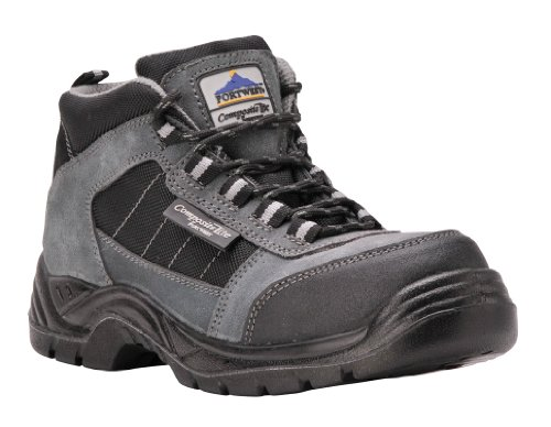 Portwest FC63 - Trekker Boot S1 - 42/8, color Negro, talla 42