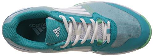 de adidas Briver Ftwbla Verde Verimp Zapatillas Sonic Court para W deporte Blanco mujer IIq4gSwC