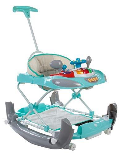 Sun Baby Walker/Rocker - Andador con volante: Amazon.es: Bebé