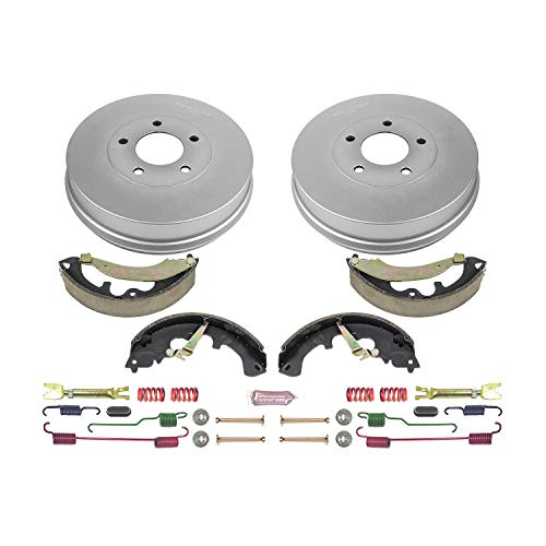 Power Stop Rear KOE15406DK Daily Driver Drum and Shoe Kits ()