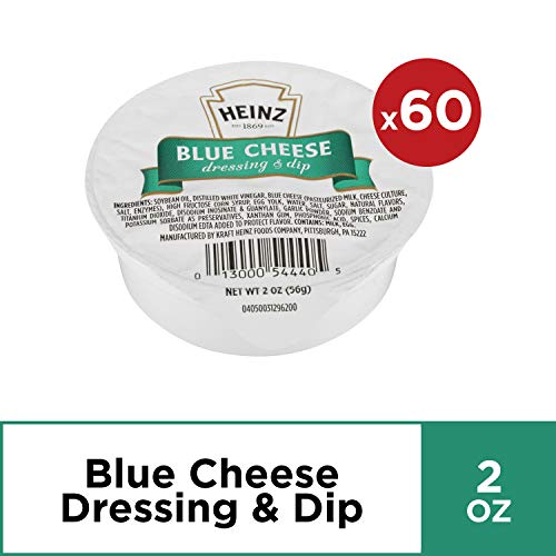 Heinz Blue Cheese Dunk Pack (2 oz Packets, Pack of 60)
