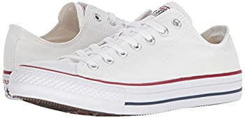 Converse Unisex Chuck Taylor All Star Low Top Optical White Sneakers - 12.5 B(m) Us Women 10.5 D(m) Us Men 6
