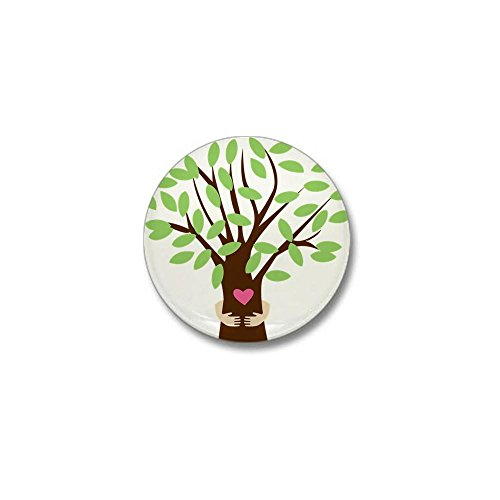 CafePress Tree Hugger Mini Button 1