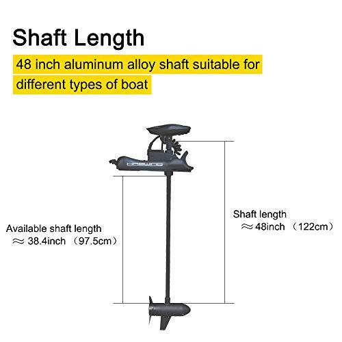 Jon boat trolling motor shaft length