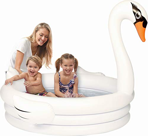 (Coconut Float Swan Inflatable Kiddie Pool)