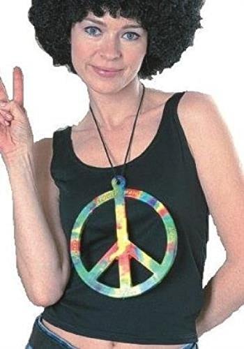 Peace War Not Costume (Big Peace Symbol 70s Hippie Make Love Not War)
