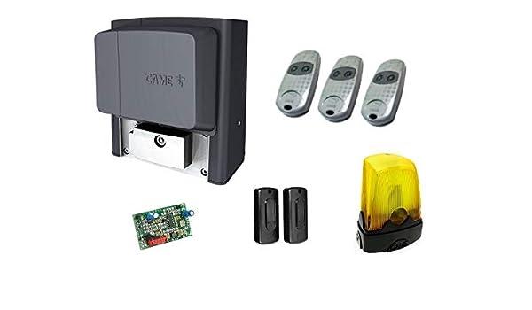 CAME BX-78 FULL KIT - (BX-78, AF43S, DIR10, 3 X TOP432EE, KLED), 230V, para puertas correderas que pesen hasta 800 kg: Amazon.es: Bricolaje y herramientas