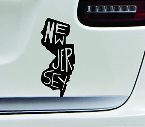 jersey window decal - 2