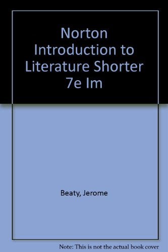 Norton Introduction to Literature Shorter 7e Im