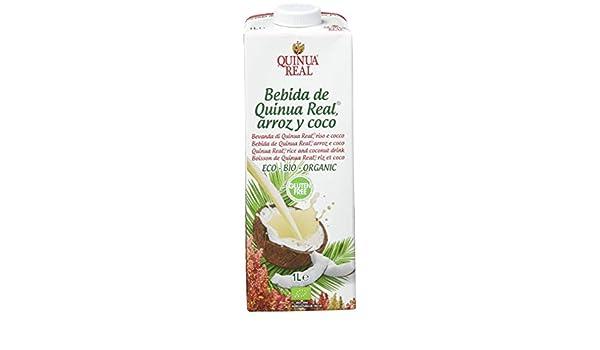 Bebida de quinoa, arroz y coco - Quinua Real - caja de 6 uds de 1000 ...