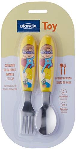 Infantil Colher Toy am Brinox branco