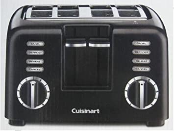 Amazon Cuisinart Dual Control 4 Slice Toaster e Side Bagel
