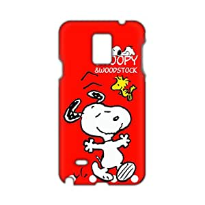 Evil-Store Snoopy Woodstock 3D Phone Case for Samsung Galaxy Note4