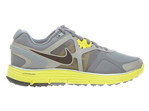 c860b83f824b0 Nike Wmns Lunarglide 3 Shield Water Grey Yellow Womens Running Shoes 472524- 002  US size 5.5  - Buy Online in UAE.