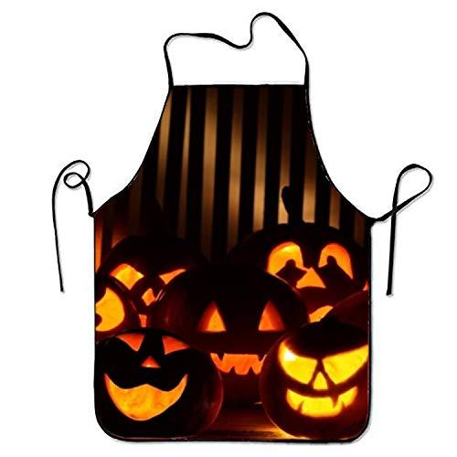 (ineieepk FnLiu Personalized Halloween Aprons Printed Apron for )