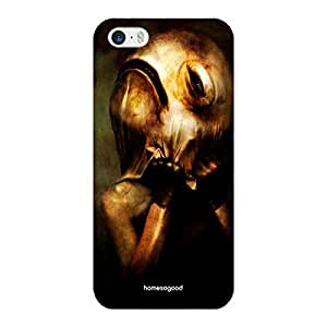 HomeSoGood Gothic Hidden Creatures Black 3D Mobile Case For iPhone 5 / 5S (Back Cover)