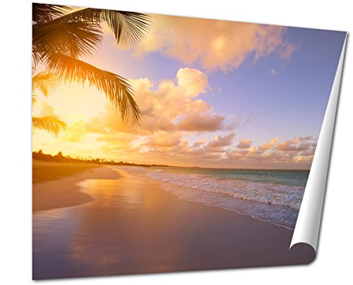 Ashley Giclee Art Beautiful Sunrise Over The Tropical Beach Phuket Art Beautiful Sunrise Over The Tropical Beach Wall Art Poster Print For Bedroom  Ready To Frame  16X20 Print
