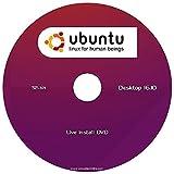 """Ubuntu v16.10 Linux Desktop Edition (32-Bit) """"NEW RELEASE"""" Install-Live DVD"""