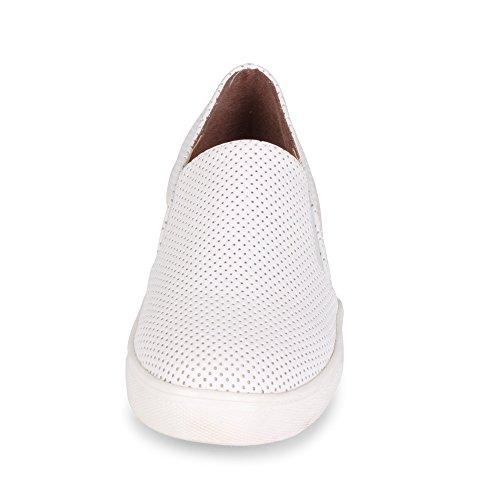Ville Pinellas Halka På Mode Sneaker Vit