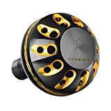 GOMEXUS Power Knob Compatible for Shimano Nasci Sedona FI Sahara FI Daiwa Certate Exceler LT Freams 2500-4000 Spinning Reel Handle Replacement Direct 38mm Metal Round