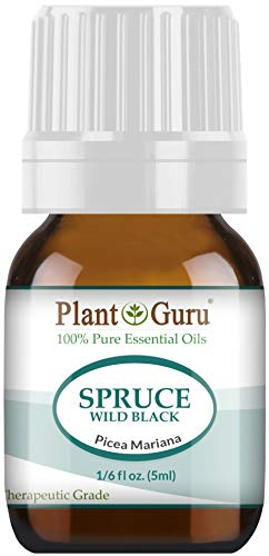 Wild Black Spruce Essential Oil 5 ml 100% Pure Undiluted Therapeutic Grade. from Plant Guru