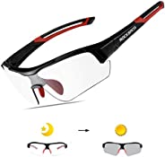 ROCKBROS Photochromic Cycling Sunglasses UV Protection for Men Women Outdoor Sports