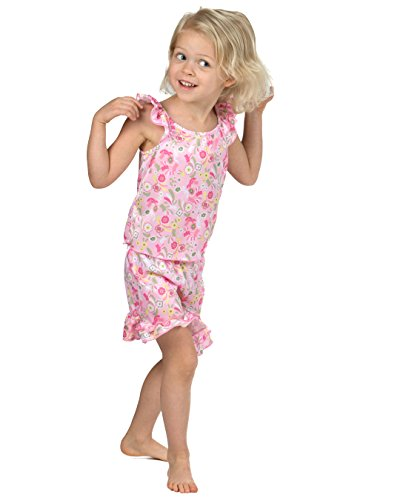 Laura Dare Girls Wildflowers Short Pajamas