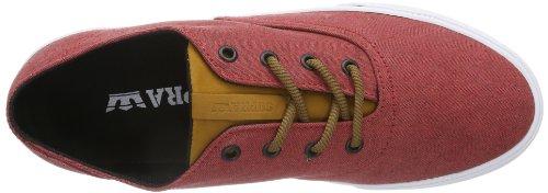 Supra Wrap S05039Unisex Adult Sneaker Rot (Red/Spice - White Rsc) nicekicks sale online best store to get for sale cheap sale amazon buy cheap footlocker WzZWVwm
