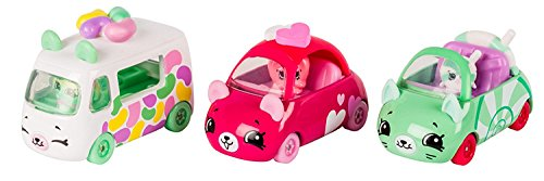 Grinch Who Stole Christmas Costumes Homemade (Cutie Cars Shopkins S1 3pk - Candy Combo & BONUS (MAY VARY) MINI CAR SHOPKIN EXCLUSIVE (Bundle of 2))