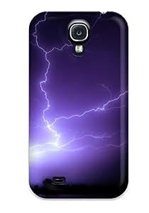 NgWPkgu2245QkszR Tpu Case Skin Protector For Galaxy S4 Lightning Strike With Nice Appearance