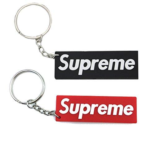 cc6fc1455a26 Supreme box logo keychain (1 Red